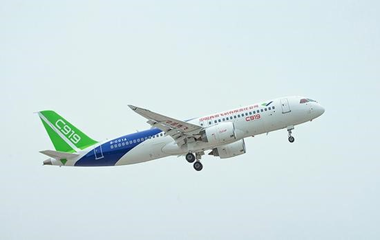 The C919's 5th test flight is the dream of a large domestic aircraft