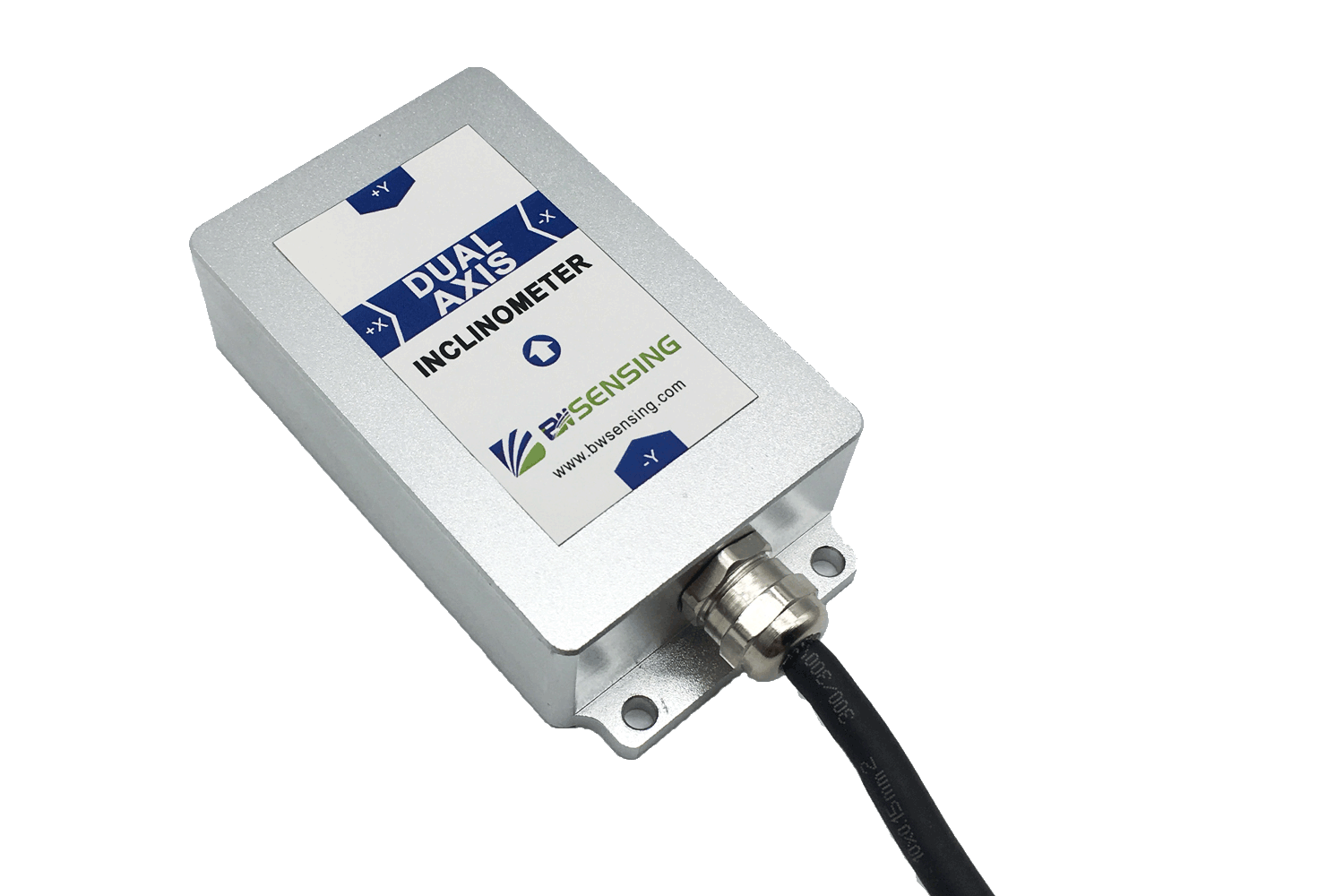 BWSENSING High accuracy Dual-axis Inclinometer BWS4700 Digital output with Modbus